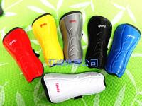 1Pairs 6 Colors Soccer Shin guards Men's Shin Guard Slip Shield Adults Leg Support Protector Shinguard YF12
