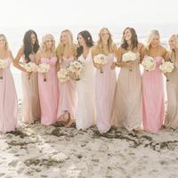 Simple And Cheap 2014 Sweetheart A-line Chiffon Bridesmaid Dress E277