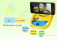 2014 New lovely cartoon Car Dashboard Sticky Pad Magic Anti-Slip Non-slip Mat free shipping!