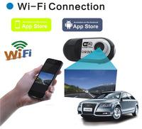 New Full HD 1080P Mini Car DVR Vehicle Camera Wifi Video Recorder Dash Cam Black Box DVRS Camcorders 140Degree Wide Angle