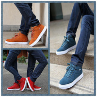 Free shipping Winter high-top skateboarding shoes fashion male plus wool lovers boots the trend cotton-padded shoes