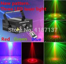 Suny 3 линзы 18 модели клуб бар RGB лазер синий из светодиодов освещение сцены DJ дома ну вечеринку 300 МВт показать профессиональный лазерный проектор диско