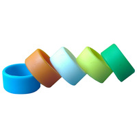 New design silicone finger rings