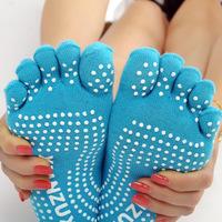 New Tourmaline Automatic Heat Ankle Sock Massage Foot Massager Far infrared Anti Cold Non-slip yoga toe socks