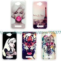 Anchors Painting Dream The princess Marilyn Monroe hard cover Case for Alcatel One Touch POP C7 OT 7041D OT 7040D