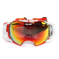 2014 New Style POLISI Replaceable Lenses Ski Snow Snowboarding Goggles Winter Outdoor Sport Skate Sled Windproof Glasses Eyewear