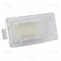 License plate light SMD 3528 24 White LED Footwell Lamp Light Bulb for BMW E90 E90N E92 E82