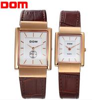 brand mens watch women dress watches ladies watch men clock woman fashion casual wristwatches Dom lovers quartz watch relojes