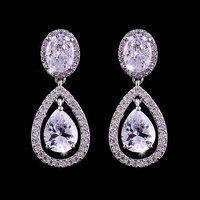 Hot  AAA CZ Earrings Fashion Woman Drops Earrings