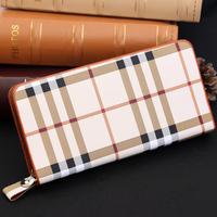 Wallets 2014 Fashion Women Wallets Zipper PU leather purse Wrist Clutch Card Bag Evening Party Bag Ladies Bags free shipping L05