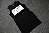2014 COI fashionable BALLINCIAGA cotton tees sleeveless long shirt dress must have cool lovers family t-shirt hot t shirt SH044