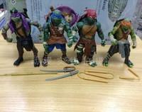 2014 new movie reality version Teenage Mutant Ninja Turtles action figure TMNT hand model toy Children cartoon Christmas gifts