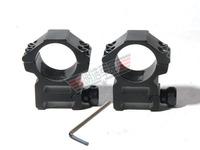 2PCS 25MM 25.4mm  Weaver Scope Mount Rings Low Profile Picatinny Rail Mount Rings Free Shipping
