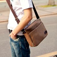 small shoulder bag cross male canvas Messenger bag men bags man bag retro middle school students leisure boom,free shipping