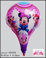 NEW arrived Free shipping Minnie foil balloon big decoration balloon toy balloon for children