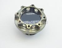 Aluminum car sport oil cap for toyota