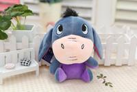 Donkey doll. Hight about 18cm. Cartoon animal. Cute. its has long ears.  Best animal toys gift.  IDA009
