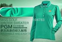 golf clothes  women golf shirt   long sleeves   autumn winter coat high quality free shipping