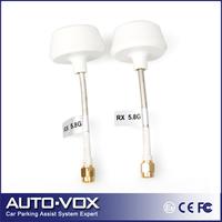 2pcs 5.8Ghz FPV High-gain Clover Mushrooms RP-SMA Male Antenna Set for RC FPV Aerial Photo