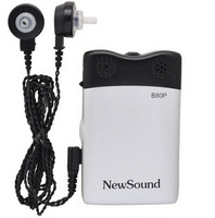 NewSound BP80P best high power body wear pocket hearing aid low cost online ear sound amplifier for hearing impaired