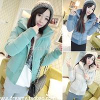 Hot new fashion autumn winter women's Slim thick coat jacket large size women jacket coat Free Post