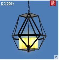 American retro light fixtures LED candles living room dining room den creative romantic candelabra chandelier
