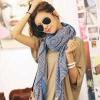 Free delivery Winter Scarf Fashion Wool Desigual Scarf Women Plaid Thick Scarves Shawl bandana for women scarf echarpes BT036