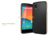 Hot sales!!! For Google LG Nexus 5 Case Neo Hybrid, Original Spigen SGP Brand Phone Bags Cases for Google Nexus 5 (D820/D821)