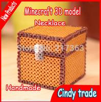 Minecraft toys  trap box storage box ornaments 3D models baby toy Free shipping ak128