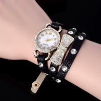 2015 Top quality fashion watch women dress watches luxury rhinestone Bracelet Quartz Watch Women hour relogio feminino relojes