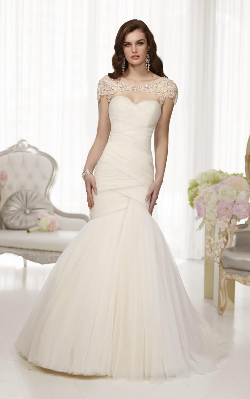 Probe-Designer-Hochzeitskleid