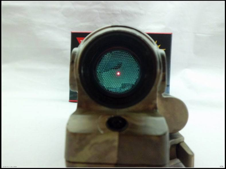 Solar Power Tactical Hunting Shooting Trijicon red Dot 1x38 Sealed Reflex Sight SRS With QD Mount