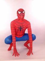 Red spider man Full Body Spandex / lycra Elastic tights Zentai suit Costume  - Super hero cosplay costume