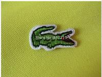 Small size 2.6*1.4cm  iron on patch patchs Crocodile Alligator  Applique Badge (200pcs a lot) badges good quality