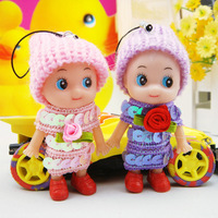9cm clown confused doll mobile phone pendant accessories child toy mini hangings gift