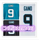 Cheap Stitched Custom Men's American Football Jersey #9 Graham Gano Football Jersey/Shirt .Accept Drop Shipping