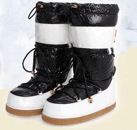Hot sale wholesale generation of fat feather  cotton 35-40 Korean version of thickened wearable women boots