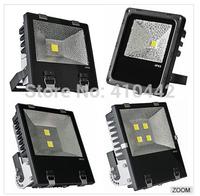 (UPS/Fedex Free shipping) 85V-265V 10W 20W 30W 50W 70W 100W 150W 200W 400W LED Floodlight Outdoor landscape LED Flood light lamp