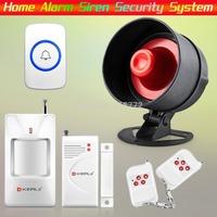 Free Shipping!KERUI Wireless Home Alarm Siren System Security Alarm System For Home House with Door Bell &PIR/Door Sensor