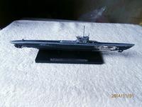 ATLAS Germany 1943 U214 boat Diecast submarine model