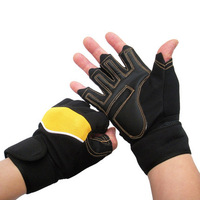 Antiskid Bracers Fitness  semi finger exercise training protective glove dumbbell barbell Skating Gymnasium for men and women