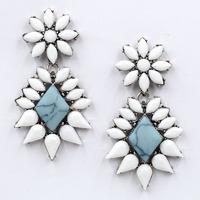 New 2014 Min order $10 Trend fashion hot sale women earring  vintage statement Earrings for women jewelry Factory Price