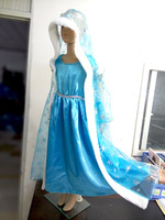 Frozen Dress Elsa Babi Child Clothes For Girl Princess Dresses Brand Girls Children Clothing Dress For Babi Girl