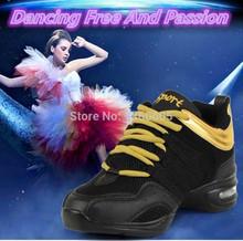 Мода фитнес дышащий учителя латинской сальса джаз современного танца обувь женщины марка танцевальные кроссовки женская обувь zapatos danza