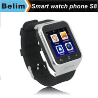 Free Shipping New Android 4.4 Smart Watch ZGPAX S8 Dual Core 3G watch phone with GPS WIFI Bluetooth 5.0MP Camera Facebook
