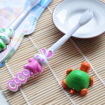 Children's soft-bristled toothbrush random colors