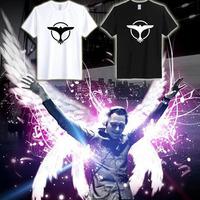 DJ Tiesto Trance Music Logo sports T shirt Men's women short sleeved Netherlands Custom logo Shirts 100%Cotton party t-shirt