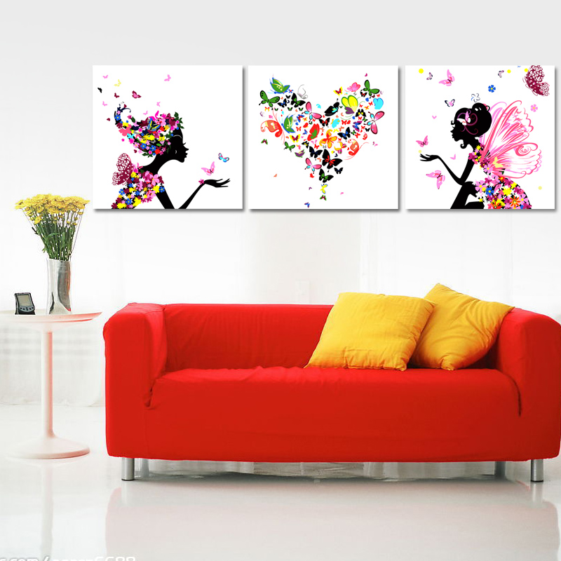 Digital oil painting diy lovers hand painting abstract painting symphony(China (Mainland))
