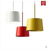 Restaurants bedroom aluminum bar Nordic IKEA living room chandelier creative personality simple atmospheric lighting