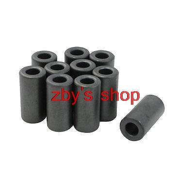 10pcs 14x7x28.5mm Inductors Filters Coils Toroidal Ferrite Cores Dark Gray(China (Mainland))